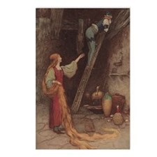 Warwick Goble's Parsley Postcards (Package of 8)