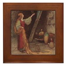 Warwick Goble's Parsley Framed Tile