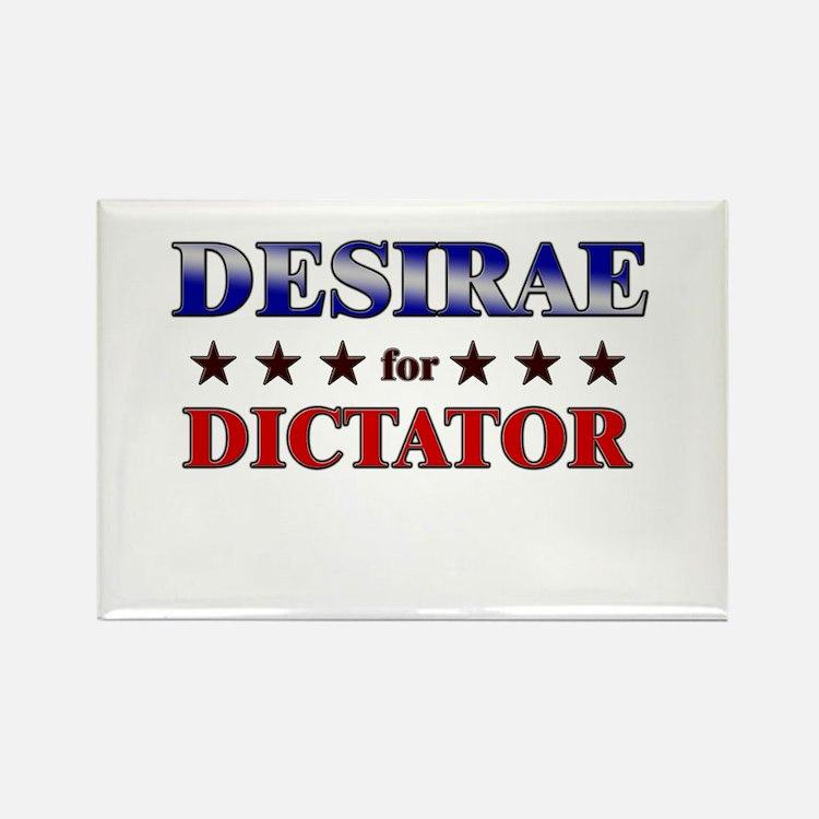 DESIRAE for dictator Rectangle Magnet