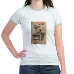 Warwick Goble's The Seven Doves Jr. Ringer T-Shirt
