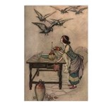 Warwick Goble's The Seven Doves Postcards (Package