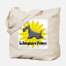 Schnauzer Power Tote Bag