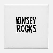 Kinsey Rocks Tile Coaster