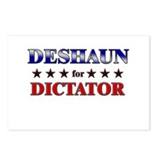 DESHAUN for dictator Postcards (Package of 8)