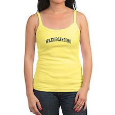Wakeboarding (blue curve) Ladies Top