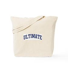 Ultimate (blue curve) Tote Bag