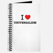 I Love UNIVERSALISM Journal