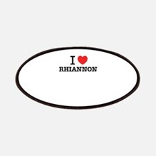 I Love RHIANNON Patch