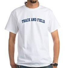 Track And Field (blue curve) Shirt