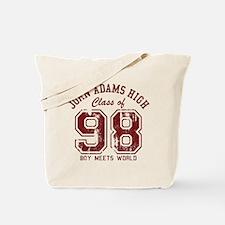 John Adams High 98 Tote Bag