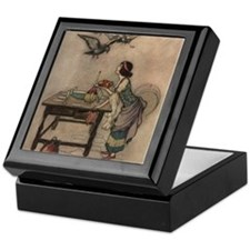 Warwick Goble's The Seven Doves Keepsake Box