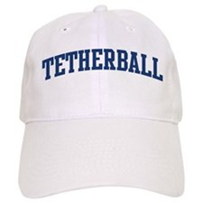Tetherball (blue curve) Baseball Cap