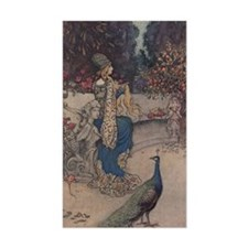 Warwick Goble's The She Bear Rectangle Decal