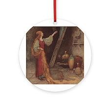 Warwick Goble's Parsley Ornament (Round)