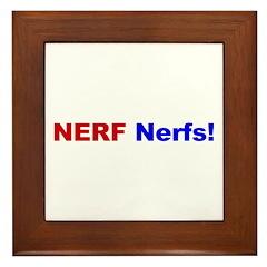 NERF nerfs Framed Tile