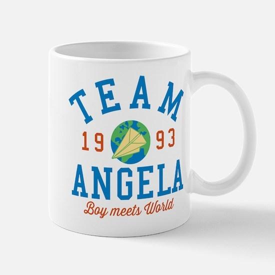Team Angela Boy Meets World Mugs