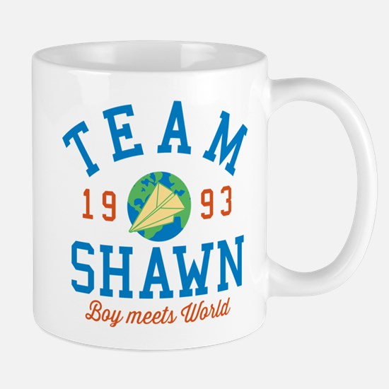Team Shawn Boy Meets World Mugs
