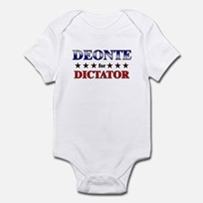 DEONTE for dictator Infant Bodysuit
