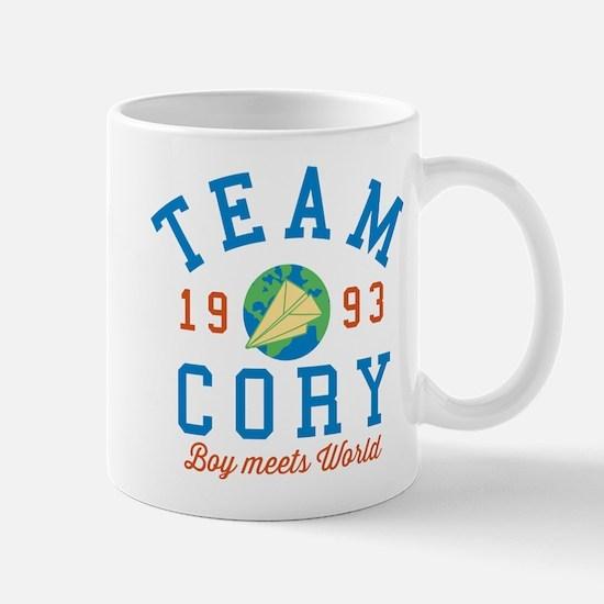 Team Cory Boy Meets World Mugs