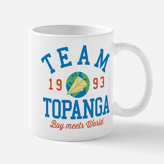 Team Topanga Boy Meets World Mugs