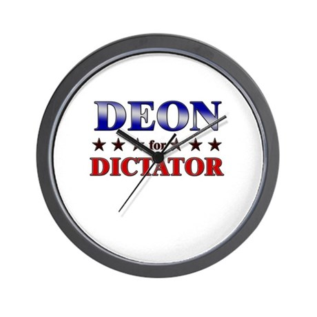 DEON for dictator Wall Clock