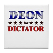 DEON for dictator Tile Coaster
