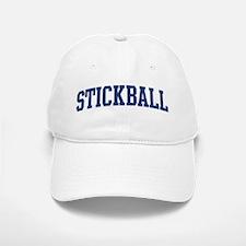 Stickball (blue curve) Baseball Baseball Cap