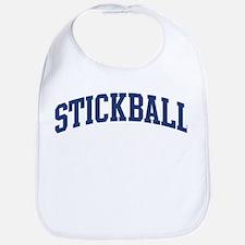 Stickball (blue curve) Bib