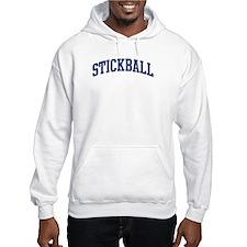 Stickball (blue curve) Hoodie