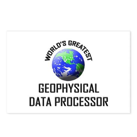 World's Greatest GEOPHYSICAL DATA PROCESSOR Postca