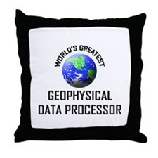 World's Greatest GEOPHYSICAL DATA PROCESSOR Throw