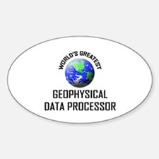 World's Greatest GEOPHYSICAL DATA PROCESSOR Sticke