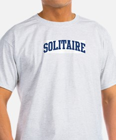 Solitaire (blue curve) T-Shirt