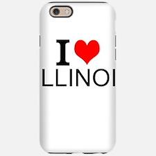 I Love Illinois iPhone 6/6s Tough Case