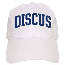 Discus (blue curve) Baseball Cap