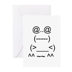 Ascii Art Greeting Cards (Pk of 10)
