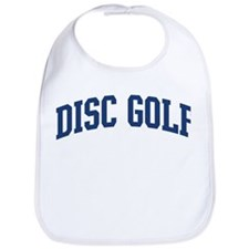 Disc Golf (blue curve) Bib