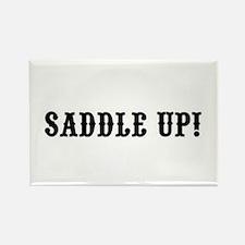 Saddle Up! Rectangle Magnet