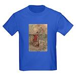 Goble's Three Enchanted Princes Kids Dark T-Shirt