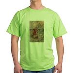Goble's Three Enchanted Princes Green T-Shirt