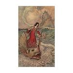 Goble's Three Enchanted Princes Sticker (Rectangul