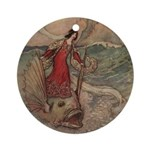 Goble's Three Enchanted Princes Ornament (Round)