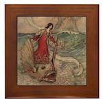 Goble's Three Enchanted Princes Framed Tile