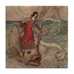 Goble's Three Enchanted Princes Tile Coaster