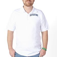 Skydiving (blue curve) T-Shirt
