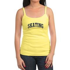 Skating (blue curve) Jr. Spaghetti Tank