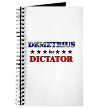 DEMETRIUS for dictator Journal