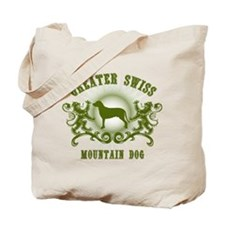 Greater Swiss Mountain Tote Bag