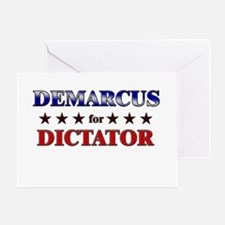 DEMARCUS for dictator Greeting Card