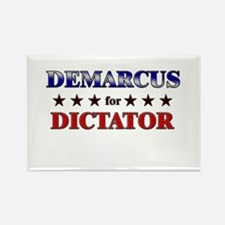DEMARCUS for dictator Rectangle Magnet